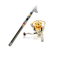 1.8m Sea Fishing Rod With 5.2:1 DB3000 Aluminum Spinning Reel Rod & Reel Combo