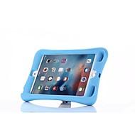 kleurrijke kinderen kids zachte TPU shock TPU geval siliconen cover staan voor ipad mini 4 (verschillende kleuren)