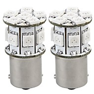 2 x Light Bulb Lamp 1156 BAU15S 12V 13 5050 SMD LED Amber