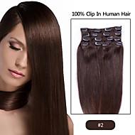 """22"""" inch Clip in Futura Hair Extensions-Eight Piece Full Head set-100grams of hair per pack"""