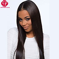 Beautiful 20inch Long Silk Straight Natural Color Brazilian Virgin Hair Full Lace Wig