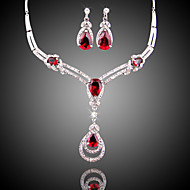 Classic Jewelry Set (necklace) (earrings)