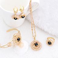 WesternRain Wedding jewelry Women's Alloy / Rhinestone Jewelry Set Rhinestone