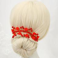 Women's Crystal / Alloy / Imitation Pearl Headpiece - Wedding / Special Occasion Headbands 1 Piece