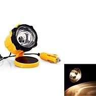 retrattile lampada luce di lavoro cavo giallo CC emergenza 12v per auto interno