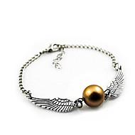 harry potter eo bracelete pomo de ouro, jóias presente