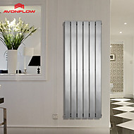 AVONFLOW® 1200x452 Hotel Towel Rack, Vertical Radiator, Column Radiators With Chrome AF-US