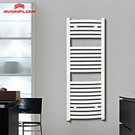AVONFLOW®1200x450 Heated Towel Rack, Towel Rack Bathroom Wall, Towel Warmer Shelf AF-DE