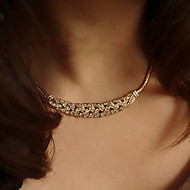 Full Diamond Necklace Collar Short Ears