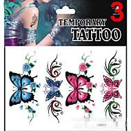 Inne - JT - Naklejki z tatuażem - Dziecko / Dziecięce / Damskie / Girl / Męskie / Dorosły / Boy / Dla nastolatków - Animal - 17*16cm -