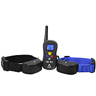 Patpet Remote waterproof dog Training Collar with LCD Display  for 2 Dogs Training (PTS-008)