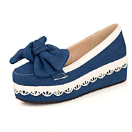 Dame-Denim-Flat hælFlate sko-Formell Fritid Fest/aften-Mørkeblå Lyseblå