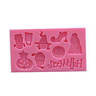 Halloween Silicone Cake Mold Shape ,Fondant Cake Decorating Tools,Chocolate Bakeware Soap Mold,stampi in silicone SM-005