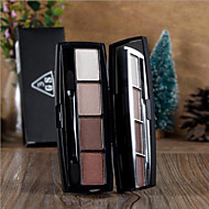New 3 GROUPS® 4 Colors Eyeshadow Dry Eyeshadow Palette Powder Normal 1Pc