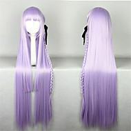 달콤한 로리타 100cm 긴 밝은 자주색 로리타의 가발