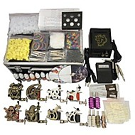 8 Machines BaseKey Tattoo Kit K802 Machine With Power Supply Grips Cups Needles(Ink not included)