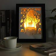 모던/현대 / 전통적인/ 클래식 / 러스틱/ 럿지 / 새로움 - 데스크 램프 - LED - 나무/대나무