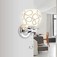 Хрусталь / Светодиодная лампа Настенные светильники,Современный E26/E27 Металл