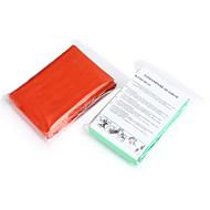 Cobertor de Emergência / outro - DE PE - Verde / Laranja