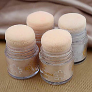 Whitening Soft Makeup Loose Powder Finishing Powder Concealer 8g 1Pc 4Colors(with Puff)