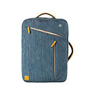 "15.6""Unisex Nylonin Laptop Tote / Backpack / Laptop Bag - Blue / Gray"
