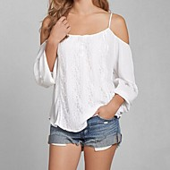 Women's Sexy Loose Strap Long Sleeve T-shirt