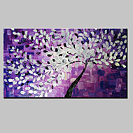 paesaggio pittura a olio moderna fiori che sbocciano coltello dipinti a mano su tela pronti per appendere un pannello