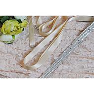 Satijn Huwelijk / Feest/Uitgaan / Dagelijks gebruik Sjerp-Pailletten / Sierstenen Dames 98 ½ In (250Cm) Pailletten / Sierstenen