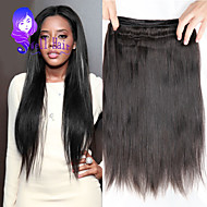 6a brasilialainen neitsyt hiukset 4 nippua suorat hiukset neitsyt Brasilian suorat hiukset