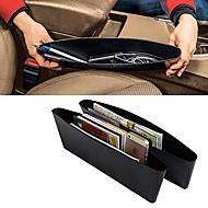 ZIQIAO Catch Catcher Storage Organizer Box Caddy Car Seat Slit Pocket (2 pcs)
