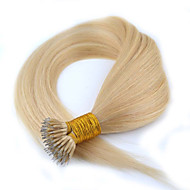 "1Pc/Lot 18""0.5g/s Brazilian Virgin Hair Straight Micro Nano Ring Hair Shedding Free Human Hair For Micro Braids"