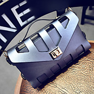 여성제품 PU / 그외 가죽 종류 캐쥬얼 숄더 백 / 토트백 베이지 / 핑크 / 블루 / 실버 / 블랙 / 멀티 색상