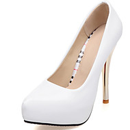 Women's Wedding Shoes Pointed Toe Heels Wedding / Dress Red / White