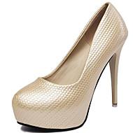 Women's Shoes Synthetic Stiletto Heel Heels Heels Wedding /Office & Career / Party & Evening/Dress/Casual Black/Gold