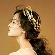 New Leaf-style Alloy / Titanium Headpiece - Wedding / Special Occasion / Outdoor Headbands / Wreaths