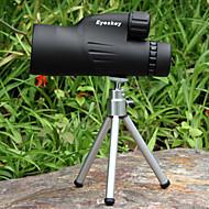 Eyeskey® 10x 50 mm Monocular BAK4Impermeável / Resistente às intempéries / Genérico / De Alta Potência / Roof Prism / Alta Definição /