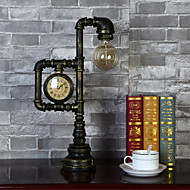 American Country Vintage Iron Lamp Tube LampBedroom Study Personality Living Room Watch Industry Wind Lamp