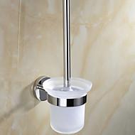 Držák na WC štětku Zrcadlově leštěné Na ze´d 14.8*13.6*34cm(5.83*5.35*13.39inch) Nerez Moderní