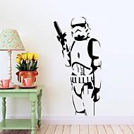 Cartoon Design / Romantik / Stillleben / Militär / Mode / Feiertage / Formen / Retro / Personen / Fantasie / Freizeit Wand-Sticker3D Wand