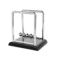 skrivebord ornament kreativ rustfrit stål Newtons vugge balance bolde legetøj