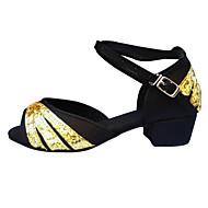 Na míru - Dámské / Dětské - Taneční boty - Břišní / Latina / Jazz / Taneční tenisky / Moderní / Taneční obuv doplňky / Swing - Satén -