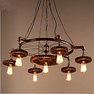 Lampy widzące ,  Tradycyjny/klasyczny Wiejski Postarzane Retro Wiejskie Galwanizowany Cecha for Styl MIni MetalSalon Sypialnia Jadalnia