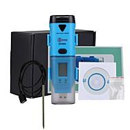 USBインターフェースとLCDディスプレイとのbside bth05防水3チャネル温度湿度露点データロガー