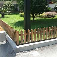 Verkohlung Korrosionsschutz Bambuszaun Wanddekoration Pergola im Freien Garten Illustration