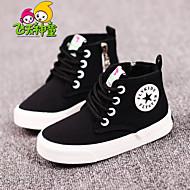 Per bambino / Per bambina-Sneakers-Tempo libero / Casual / Sportivo-Comoda / Punta arrotondata-Piatto-Di corda / Tessuto-Blu / Nero e