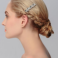 Women's Crystal Headpiece - Wedding / Special Occasion / Casual / Office & Career / Outdoor Hair Combs 1 Piece
