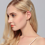 Women's Rhinestone Headpiece - Wedding / Special Occasion / Casual / Office & Career / Outdoor Hair Clip 1 Piece