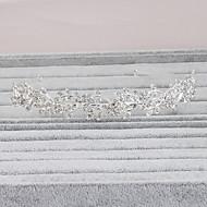 Donne Strass Copricapo-Matrimonio / Occasioni speciali / Casual / Formale / All'aperto Fasce 1 pezzo Argentato Cerchio