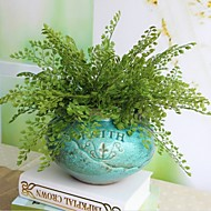 2 Bouquet Reality Fern Leaf Artificial Plant Flower Decoration