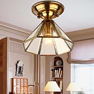5 צמודי תקרה ,  מסורתי/ קלאסי Brass מאפיין for סגנון קטן מתכת מסדרון
